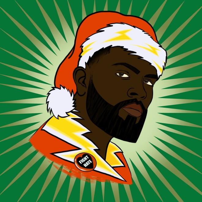 Peter Lloyd ARE, Black Santa