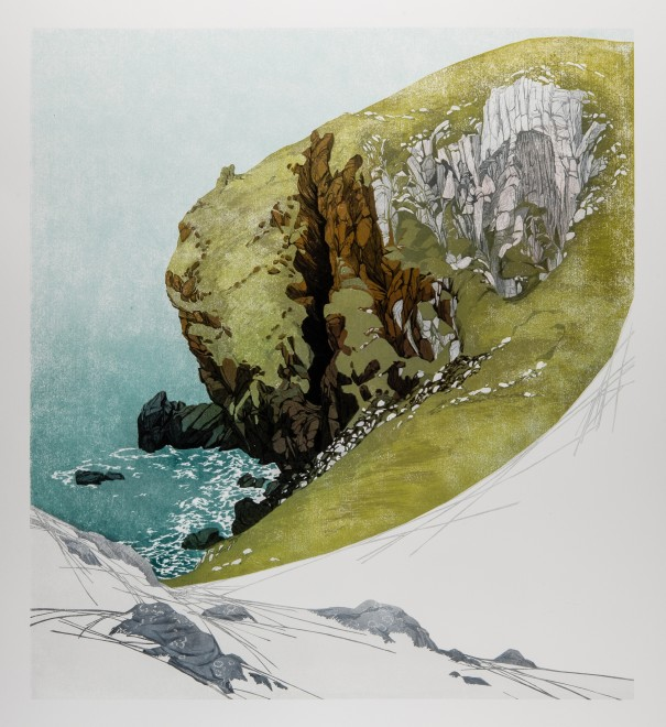 Laura Boswell ARE, Divided Cliff, St Abbs Head