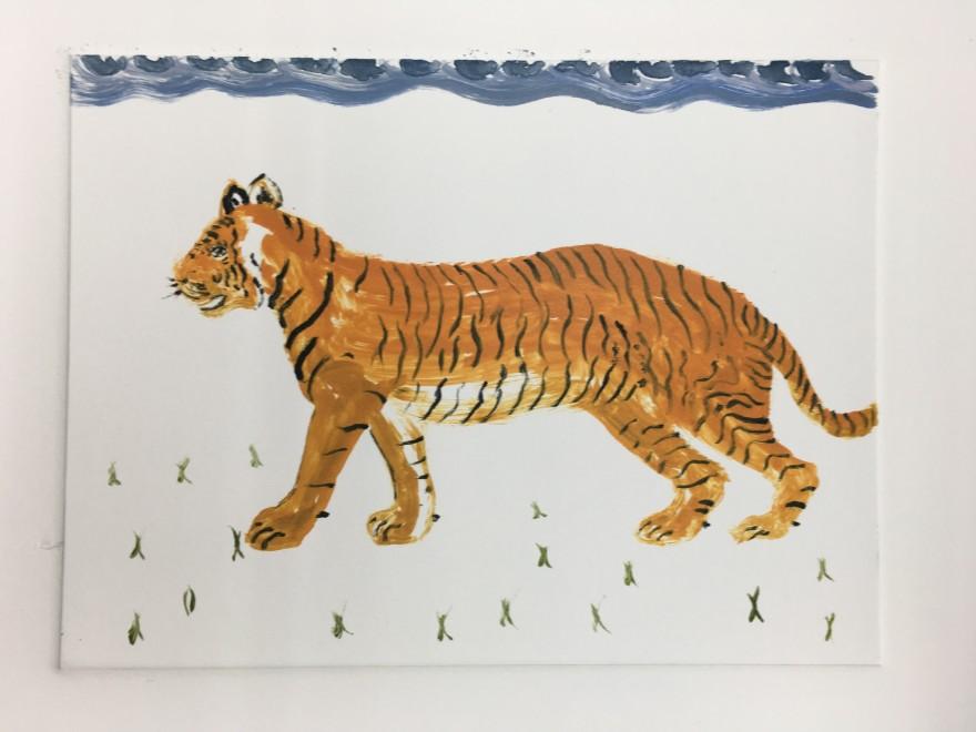 Karen Keogh RE, Tiger Tiger Burning Bright