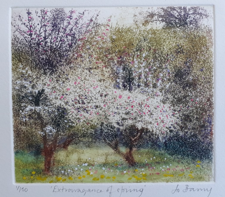 Jo Barry RE, Extravagance of Spring