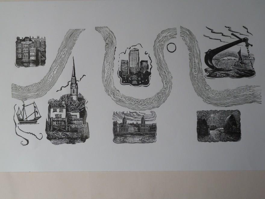 John Bryce RE, Serpentine Thames