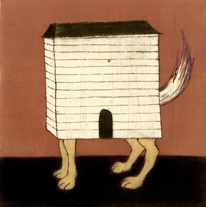 Mychael Barratt PPRE Hon RWS, Chien Maison - Louise Bourgeois' Dog