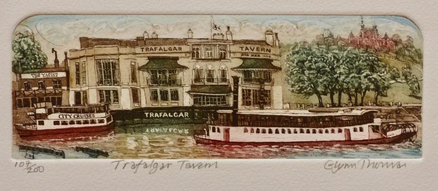 Glynn Thomas RE, Trafalgar Tavern