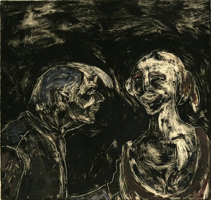 Julia Midgley RWS RE, The Art Lover
