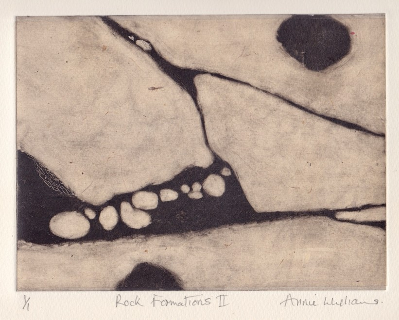 Annie Williams RWS RE, Rock Formations II