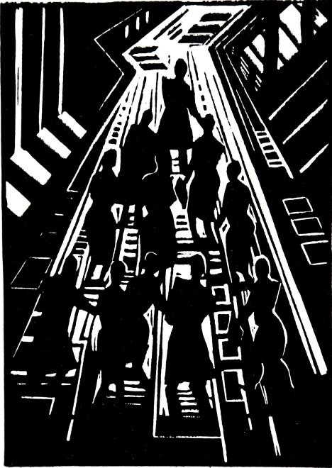 Jeremy Blighton RE, To The Light