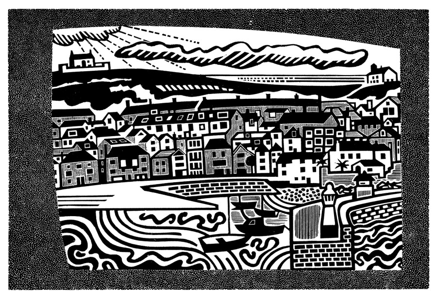 Peter Lawrence RE, St Ives Harbour