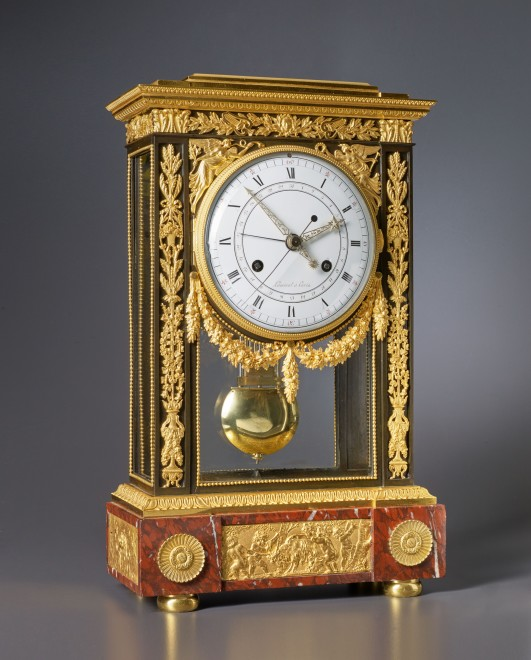 A Directoire table regulator of at least two weeks duration by Lamiral