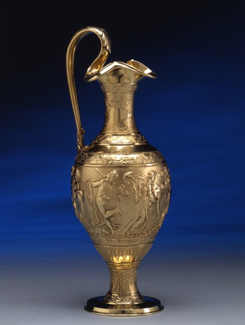 An ewer by Hunt & Roskell