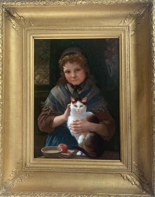 """""""The cherished Friends"""" by Pierre-Louis-Joseph De Coninck"""