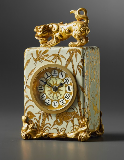 A miniature carriage clock by Le Roy & Fils
