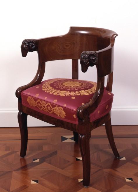 An Empire fauteuil by Jacob-Desmalter et Cie