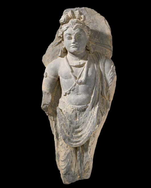 A figure of Buddha Shakyamuni, Gandhara