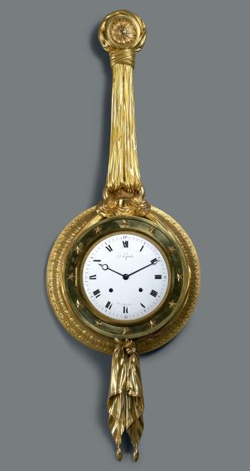 A Directoire cartel clock du Congrès by Jean-Joseph Lepaute