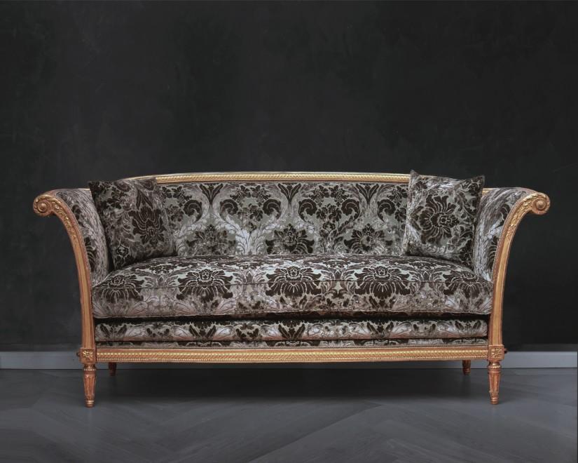 A Louis XVI carved grand canapé by Jean-Baptiste-Claude Sené