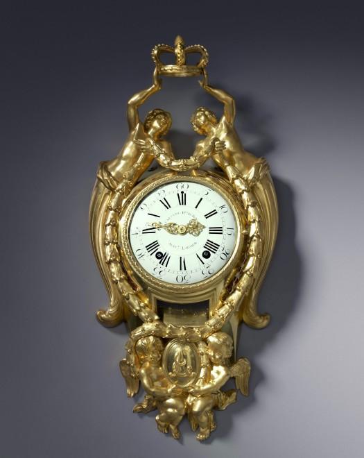 A Louis XVI cartel clock, by Causard Hgr du Roy, Suivt Lacour