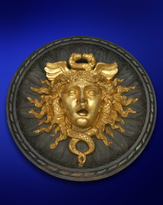 A Second Empire roundel Medusa mask