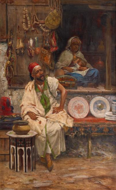 """""""An Oriental Bazaar"""" by José Echena"""