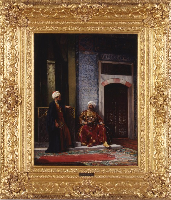 """Waiting for the Pasha"" by Stanislaus von Chlebowski"