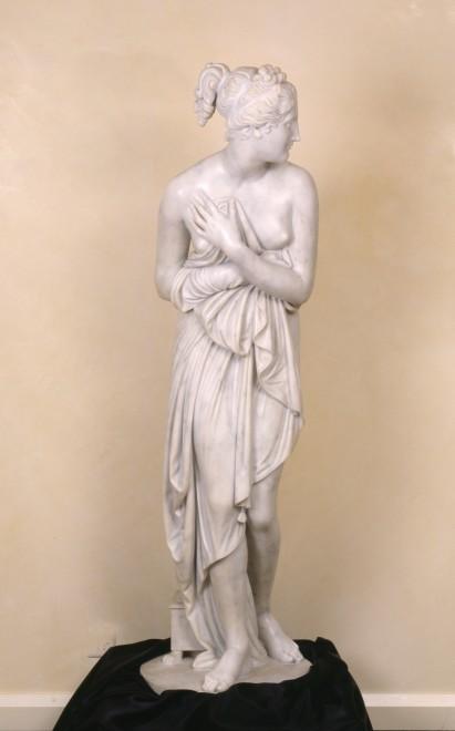 A Neo-classical figure of Venus Italica, after Antonio Canova