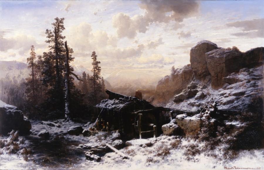 """""""Winter Landscape"""" by Richard Zimmermann"""