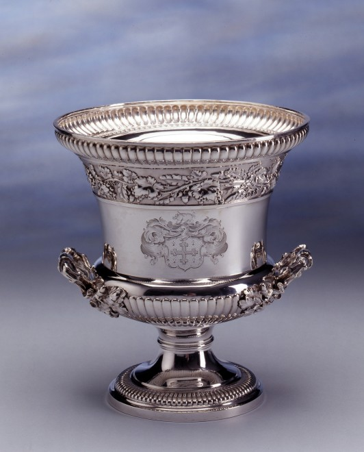 A Regency wine cooler by Paul Storr