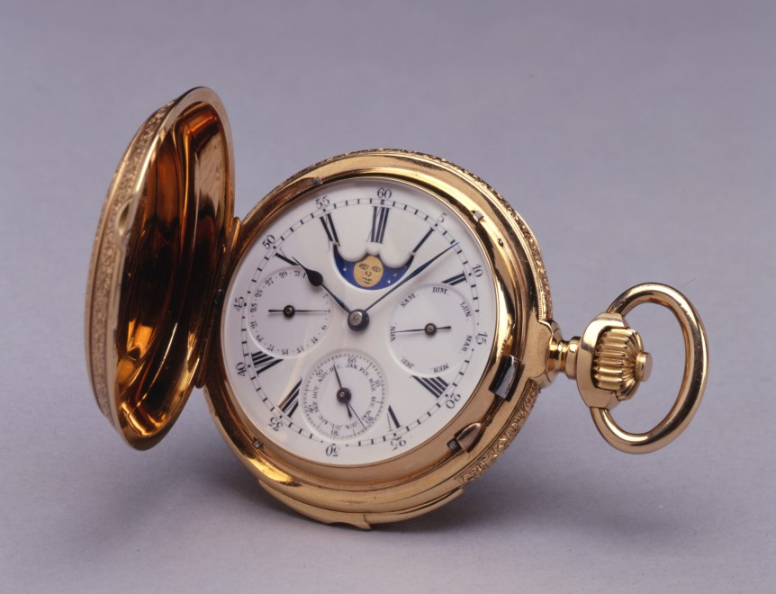 A Swiss astronomical and minute repeating Pocket watch by Paul Jeannot