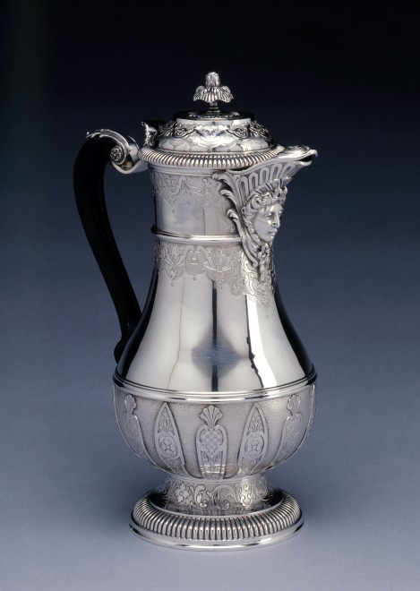 A French Regency style coffee -pot by Cardeilhac