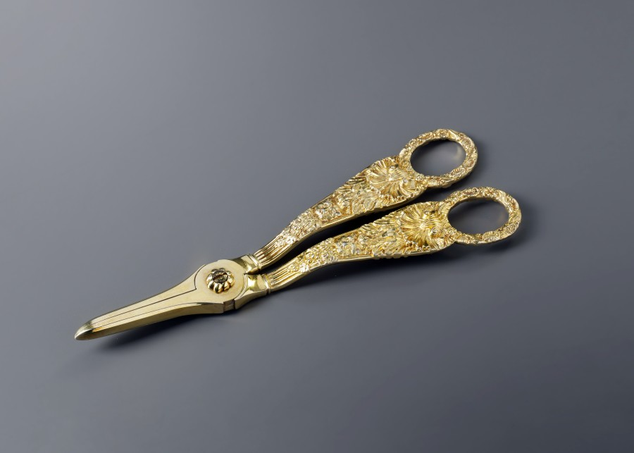 A Victorian grape scissors, by W. Eley