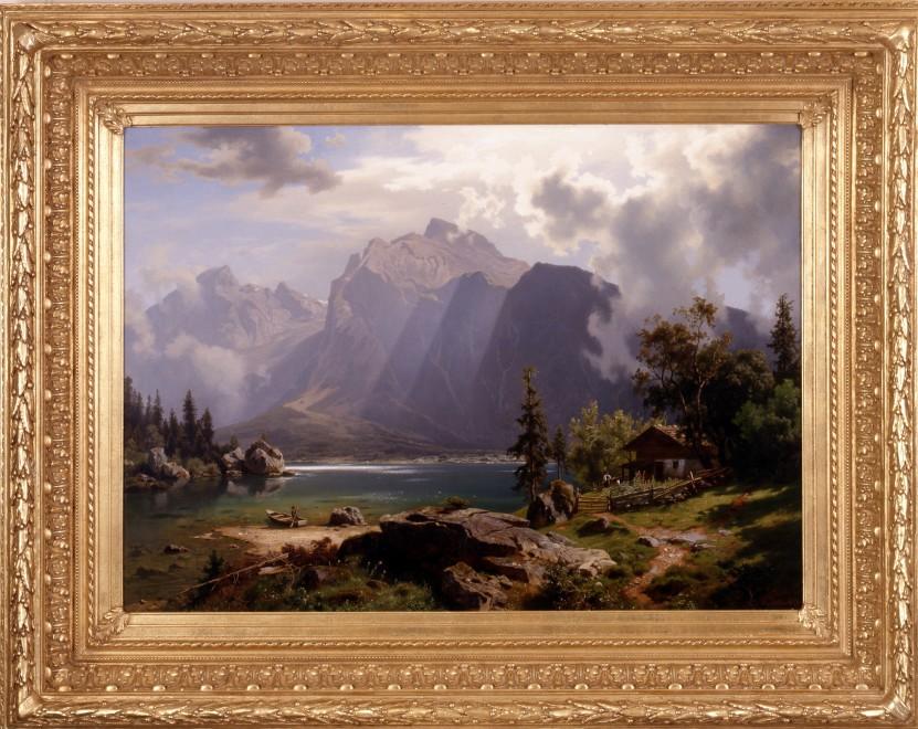"""""""Landscape"""" by August Leu"""