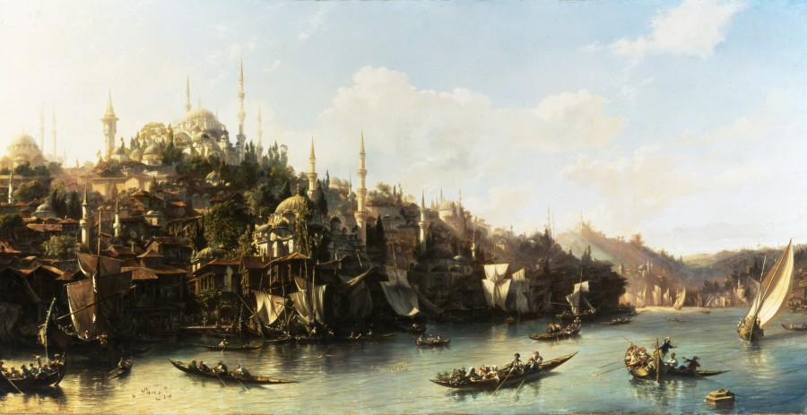 A View of the Suleymaniyeh and The Golden Horn, Constantinople