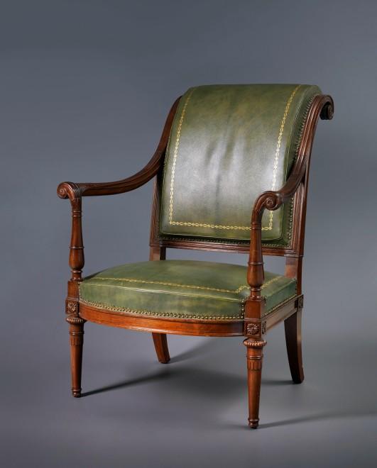 A Louis XVI fauteuil