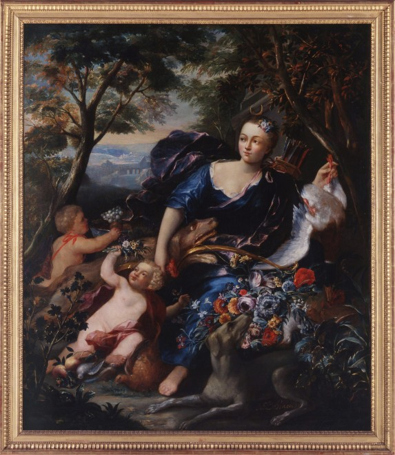 """Diana the Huntress"" by Abraham I de Haen"