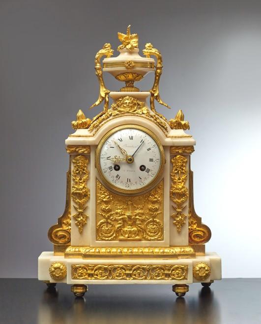 A Louis XVI clock by Jean-Simon Bourdier