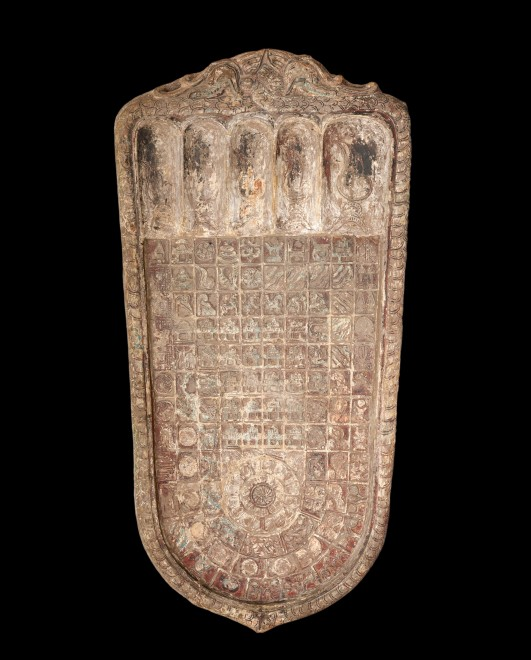 A 15 th Century Buddha foot imprint