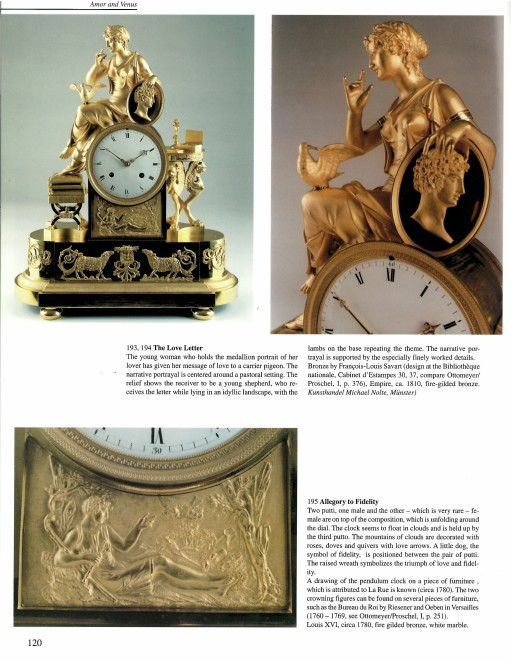 An Empire mantel clock of eight day duration housed in a case attributed to François-Louis Savart