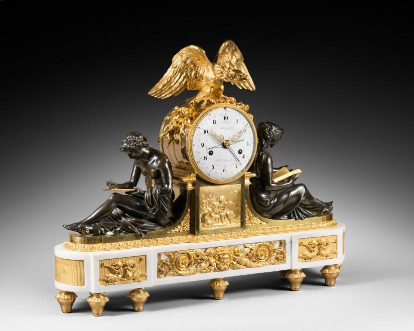 A Louis XVI figural clock by Pierre-Claude Raguet-Lépine