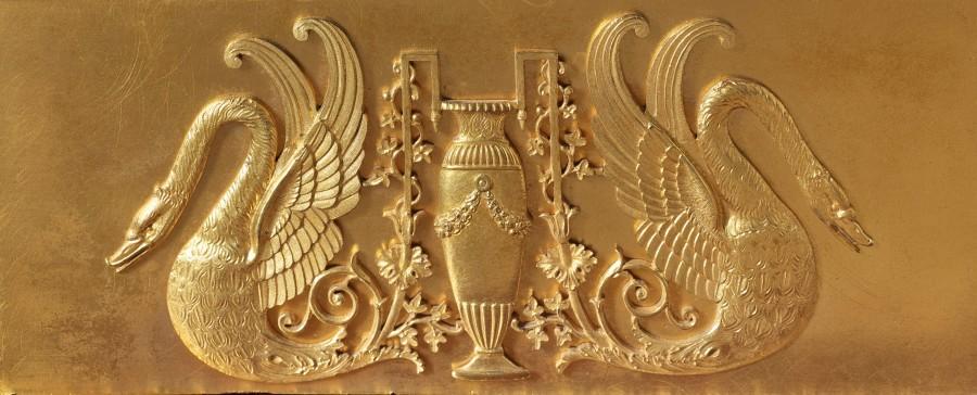 An Empire figural clock by Claude Hémon
