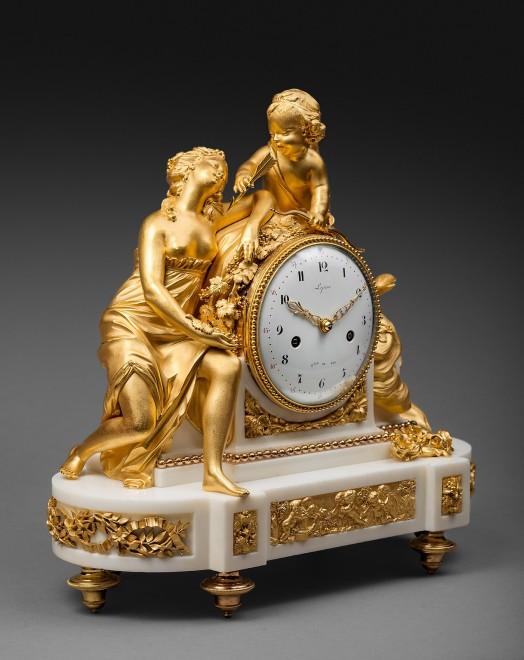 A Louis XVI mantel clock by Jean-Antoine Lépine
