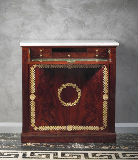 An Empire commode attributed to Pierre-Benoît Marcion