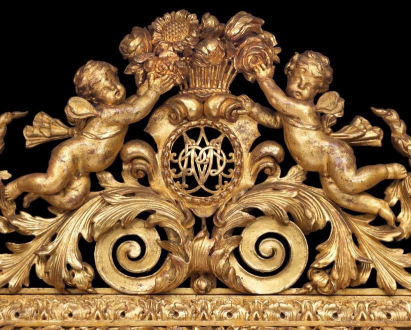 A Louis XIV mirror