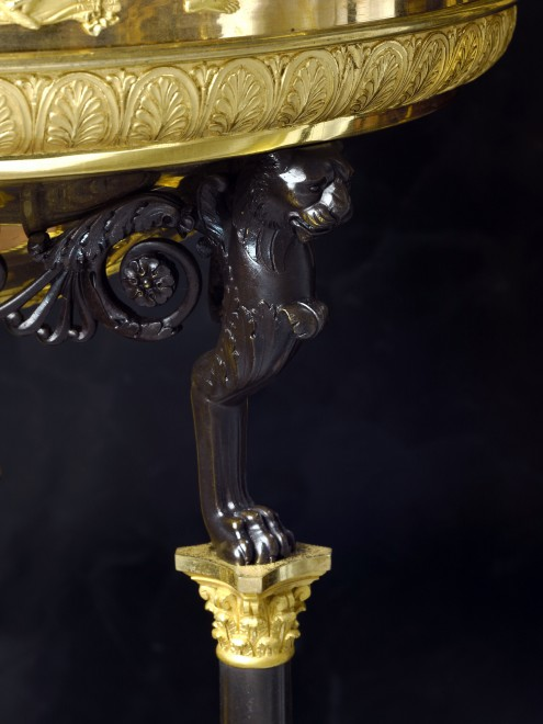 An Empire jardinière attributed to Jacob-Desmalter et Cie with mounts most probably by Pierre-Philippe Thomire