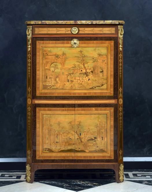 A Louis XVI secrétaire à abattant by Nicolas Petit