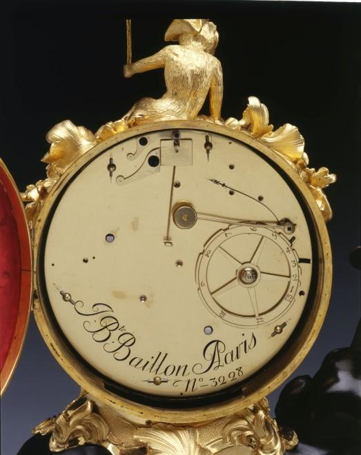 A Louis XV Pendule 'À L'Éléphant' by Jean Baptiste-Baillon