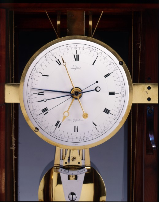 An Empire astronomical precision table regulator by Pierre-Claude Lépine