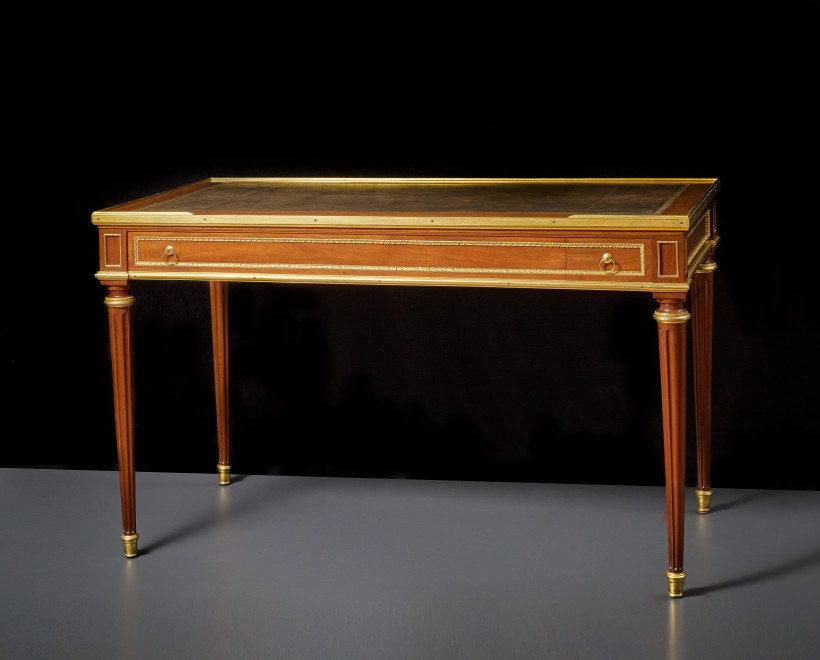 A Louis XVI tric trac games table by Jean-François Leleu