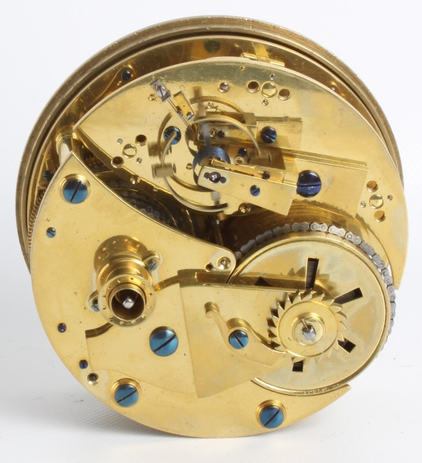 A eight day table chronometer by Harris