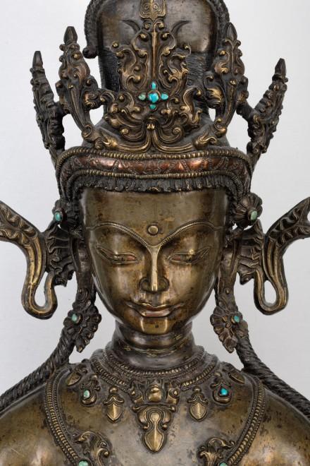 A Tibetan thirteenth-fourteenth century  figure of Ṣaḍakṣarī-Lokeśvara