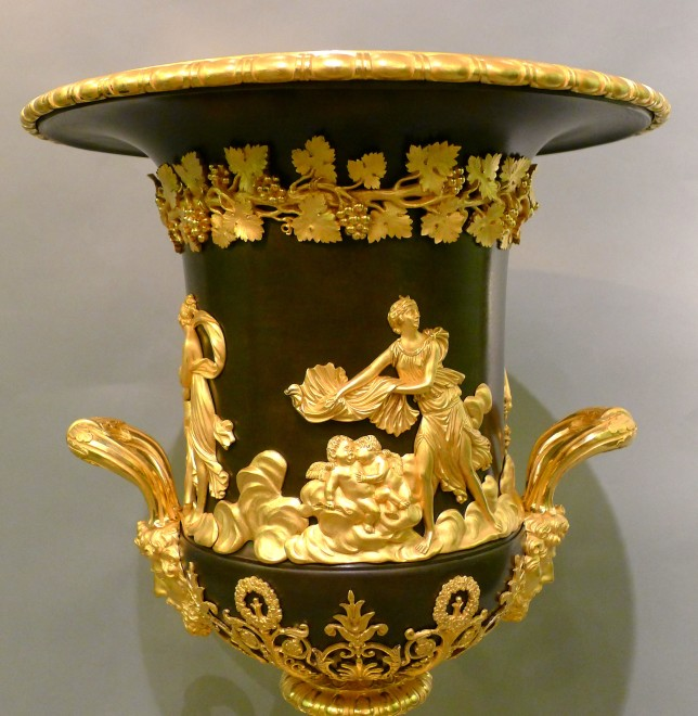 An Empire Campagna urn, attributed to Pierre-Philippe Thomire