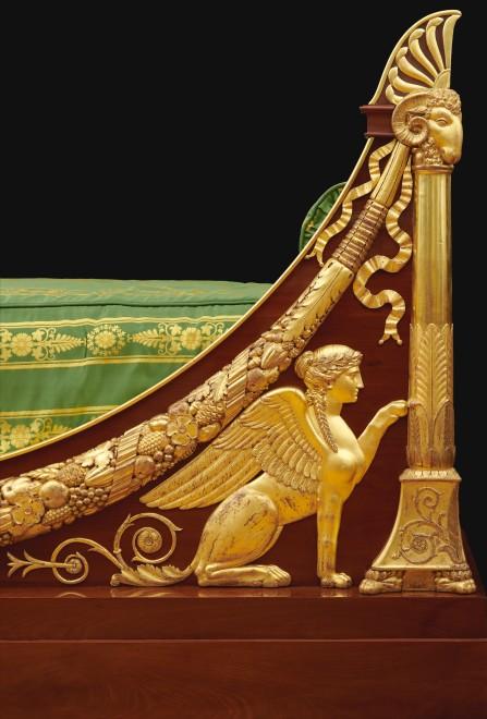 A highly important Directoire lit en bateau by Jacob Frères
